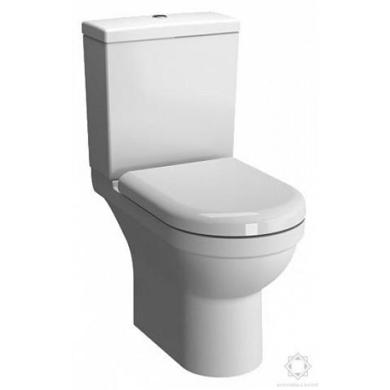Напольный унитаз S50 9797B003-7204 open-back с сид. микролифт, механ. GEBERIT