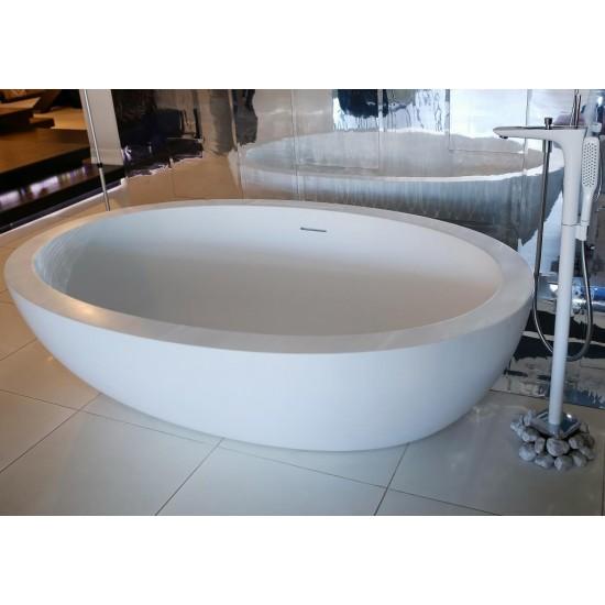 Ванна FEEL DURALIGHT отдельно стоящая+слив-перелив