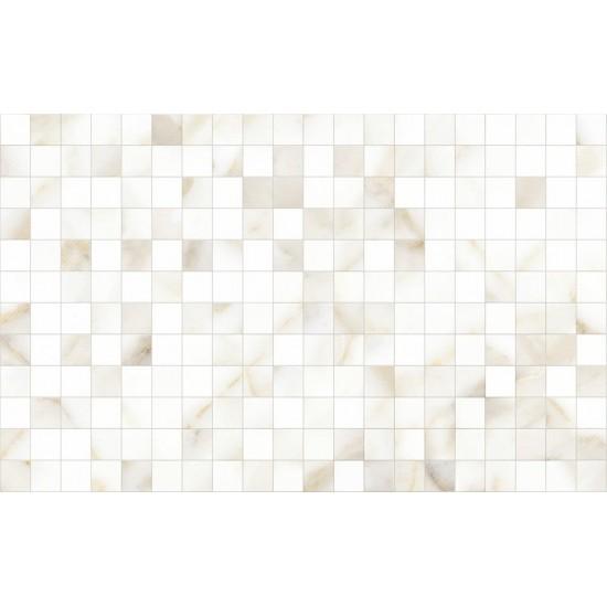 Плитка облицовочная CALACATTA GOLD GT 10100001118 40х25  белый 02 мозаика