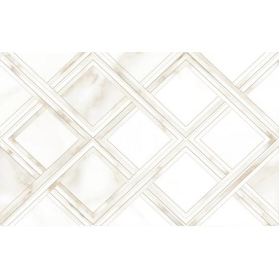 Плитка облицовочная CALACATTA GOLD GT 10100001120 40х25  белый 03 ромбы
