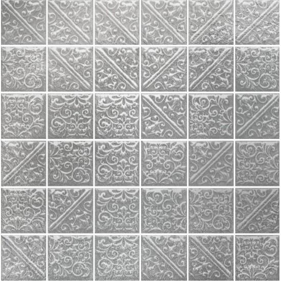 Мозаика ЛА-ВИЛЛЕТ 21051 30,1х30,1 металл