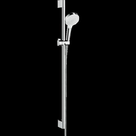 Душевой гарнитур CROMETTA  VARIO/UC  26536400 0,9 м,белый/хром