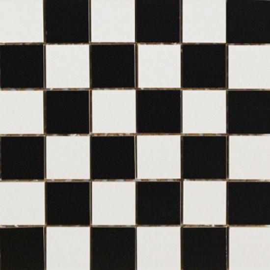 Мозаика YORK MOSAICO SCACCHI  B/N 5x5 HOM985 30x30
