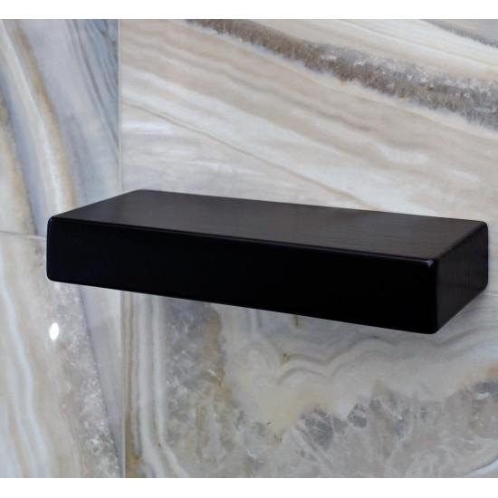 Полка FLOW MINI C109105 черная матовая 35,5х13,5