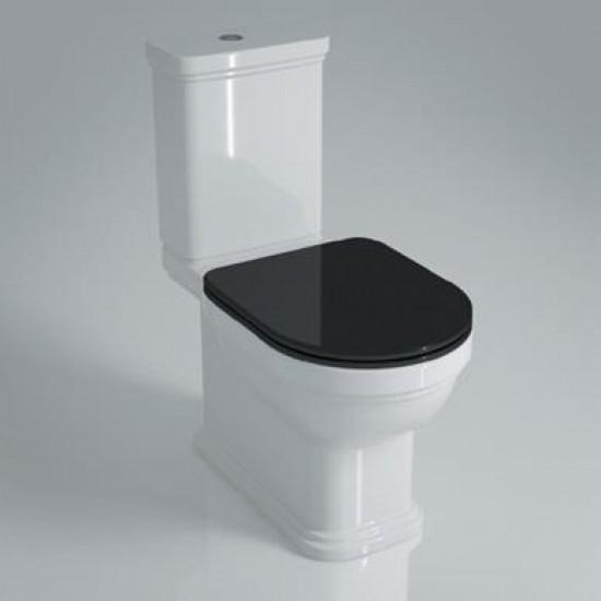 Сиденье POMPEI PO.seat.01/BLK с м/лифтом+ clkip up, черное