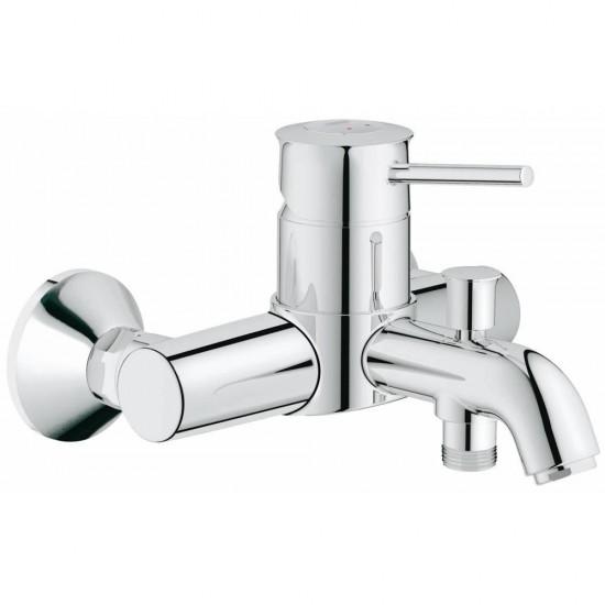 Смеситель для ванны BAU CLASSIC 32865000 хром, с переключателем